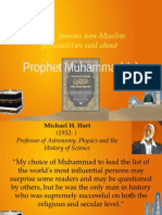 Prophet Muhammad - Views by Non-Muslims
