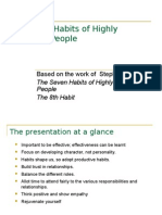 The Eight Habits of Highly Effective People Edited
