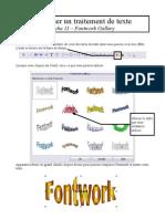 fiche 11 - fontwork