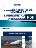 Integracion de Procesamiento de Minerales e Hidrometalurgia.pdf