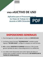 Instructivo de Uso MRV