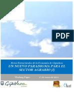 Retos Estructurales de la Economia de Gipuzkoa. UN NUEVO PARADIGMA PARA EL SECTOR AGRARIO (I)