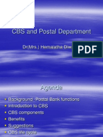 CBS and Postal Department