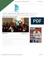 14-01-15 'Cobijan' priistas a Ivonne en su registro | La Palabra del Caribe - Periodismo con ética | Noticias de Quintana Roo