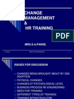 Change Management & Hr Training