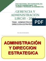 Clase 07 Adm- Direccion Estrategica