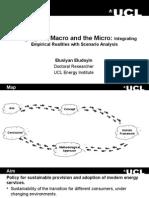 Bridging the Macro and the Micro Eludoyin