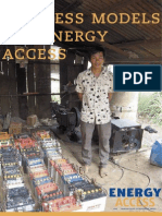 Business Models for Energy Access