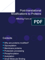 18238212 Posttransl. ExploreCommunity   ational Modifications to Proteins