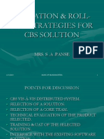 Migration & Rollout Strategies for Cbs Solution