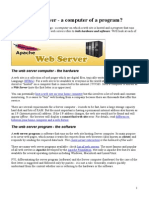 About Web Server Apache