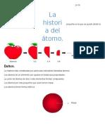 La Historia Del Átomo