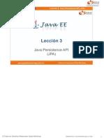 Curso Java EE - 03 Leccion 03 - Teoria