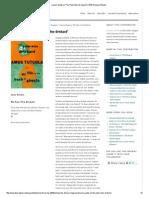 Lauren Gantz on _The Palm Wine Drinkard_ _ E3W Review of Books