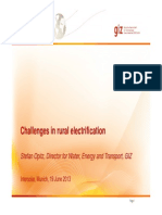 GIZ Opitz Challenges Rural Electrification, 6 2013