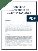 Gobierno Transitorio Valentin Paniagua