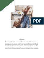 Proverbs Challenge