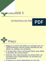 Unidade 5 - Estratégia de Preço