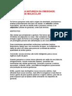 Wilson Rondó Jr - A verdadeira natureza da obesidade - oxidabilidade molecular