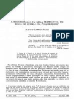 Ramos 1983 a Modernizacao Em Nova Perspec 15086
