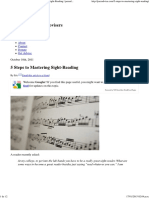 How to Sight-Read Music_ 5 Steps to Mastering Sight-Reading _ Jazzadvice