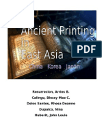 Ancient Printing Research