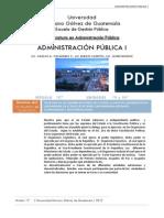 Administracion Publica i Sem 9 y 10 Clave de Guatemala