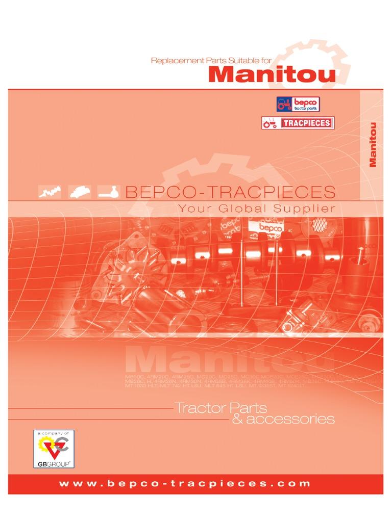 Manitou Oil Filter for MT MM MVT MLT 133755 MC