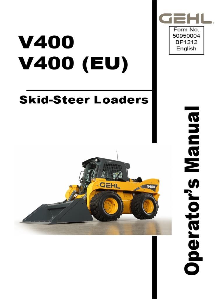 gehl sl4635 sl4835 skid loaders service repair manual Array - v400 operator  u0027s manual pdf elevator seat belt rh scribd ...