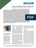 DVT & Pulmonary Embolism Part 1