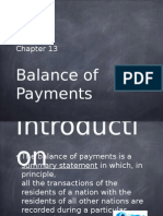 13 Balance of Payments