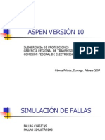 Aspen onliner Curso Version 10.9