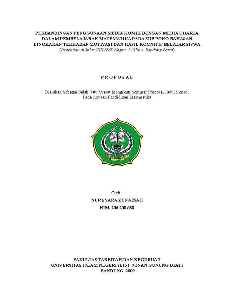 Contoh Proposal Pengajuan Judul Skripsi Farmasi