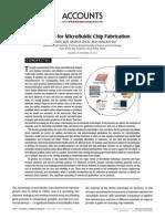 Nanochannel Materials Ren