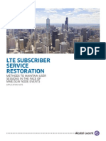 10085 Lte Subscriber Service Restoration
