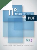 11o_informe de actividades IFAI