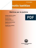 Mártires Por La Justicia - Promotio Iustitia