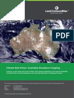 Climate Risk Primer