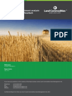 State by State Investment Analysis of the Australian Wheatbelt