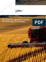 The Australian Agricultural Market – an Introduction for Investors