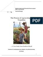The Process of Agroecological  Transition