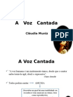 A Voz Cantada - II Simposio Da Voz SEM FUNDO