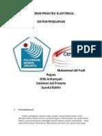 laporan praktik pengapian