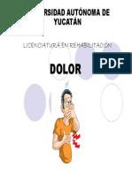 Diapositivas de Dolor