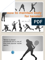 TENNIS Injuries Ppt
