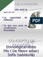 Concepto de Filosofía 2010