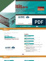 Revista Análisis de la Realidad Nacional No. 65