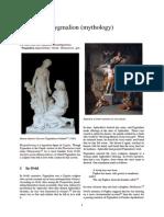 Pygmalion (Mythology)