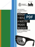 Vol. 1. Aceituno y Estrada Coord. Reflexiones y Miradas a Nuestro Pasado Reciente. PUCV. 2013. ISSN 0719 44501
