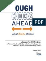 Tough Choices Ahead Executive Summary